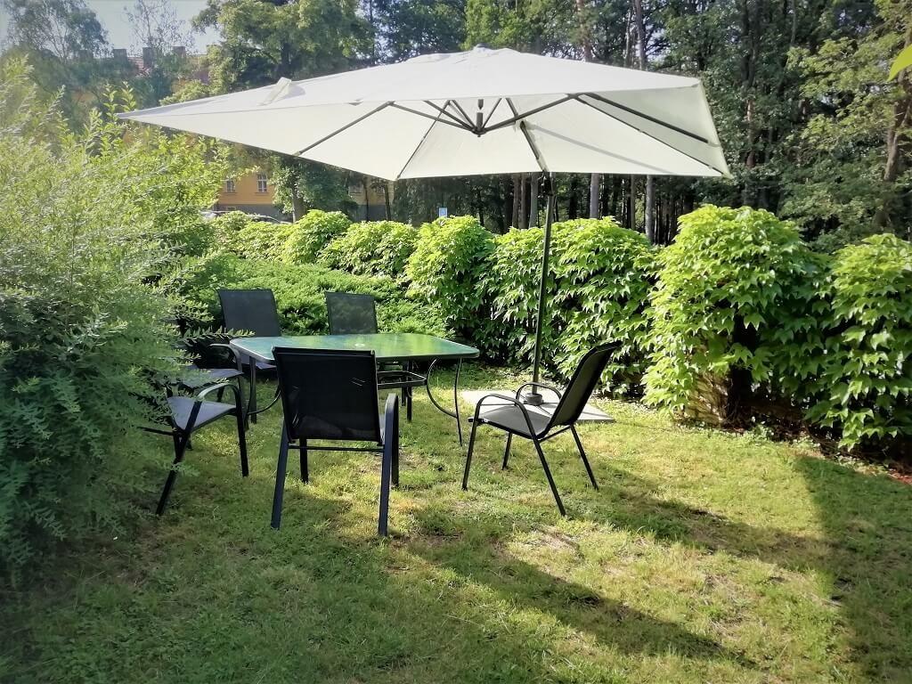Zahradní posezení na rezidenci