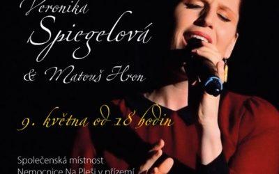 Pozvánka na koncert Veroniky Spiegelové & Matouše Hrona