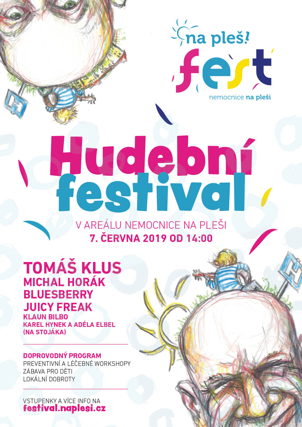 Plakát NaPleš!Fest 2019