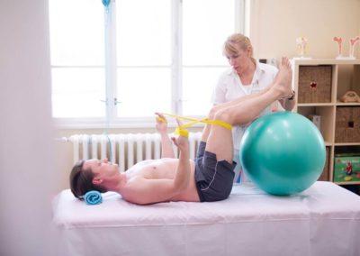 individuální cvičení