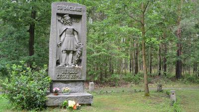 Společné putování kpamátníku sv. Václava na Pleši