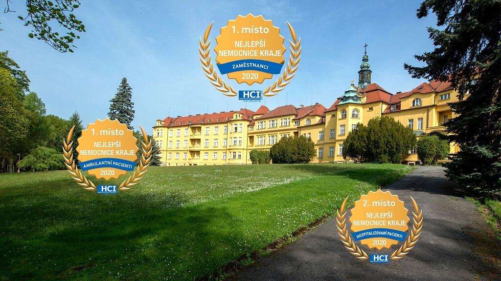 Získali jsme ocenění Nejlepší nemocnice vkraji