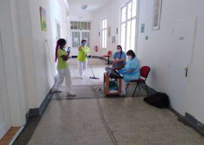 Den nemocných 2021 - písničky na přání a malé dárečky potěšily i personál nemocnice