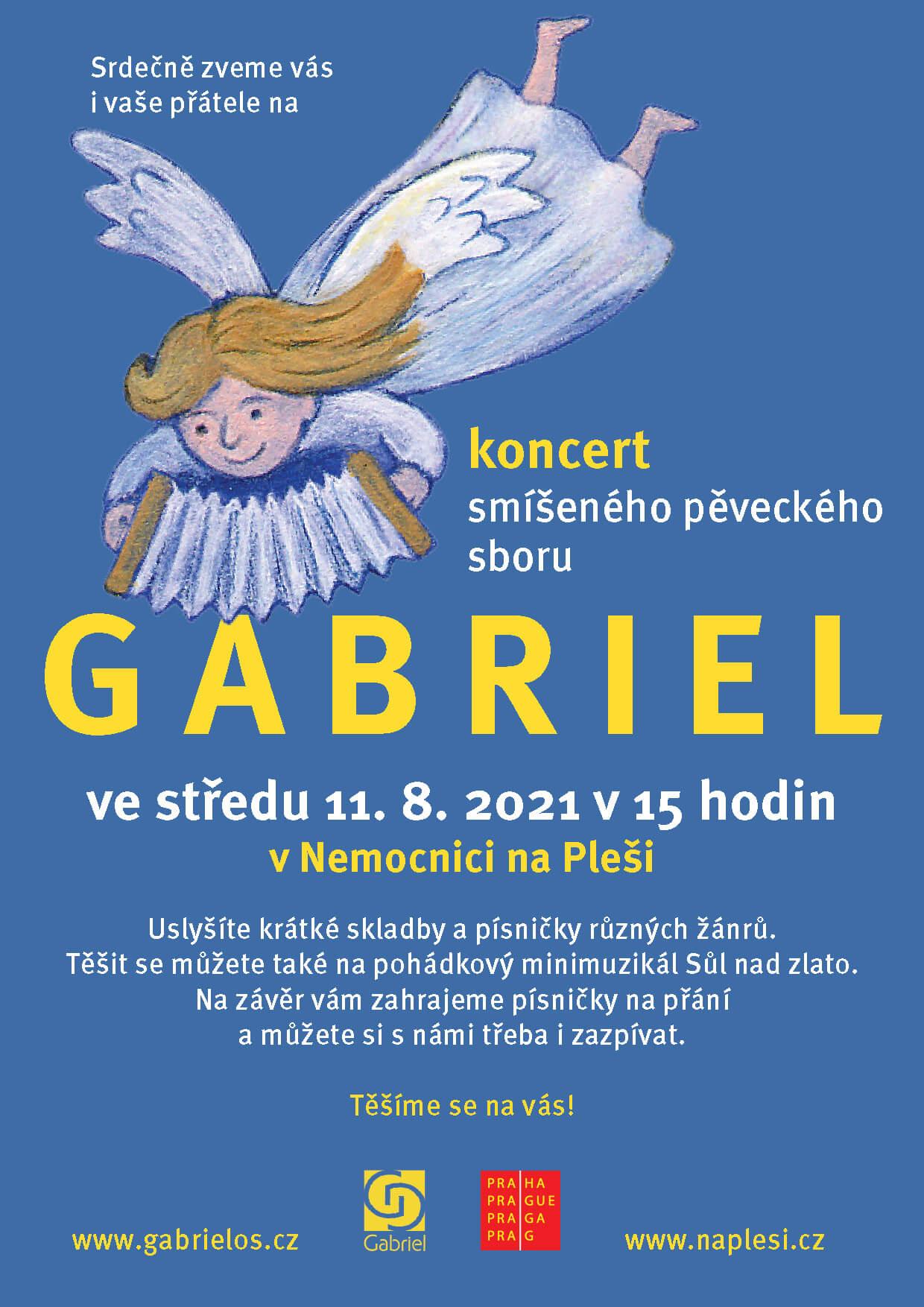 Koncert pěveckého sboru Gabriel