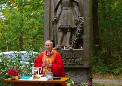 Pouť ke sv. Václavu na Pleši
